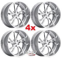 17 Pro Wheels Twisted Ss 5 Set Of 4 Billet Rims Billet Dub Us Mags