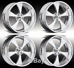 19 Pro Wheels Forged Billet Rims Jet V Intro Foose Us Mags Muscle Car Hot Rod