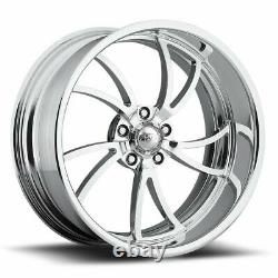 20 Pro Billet Wheels Rims Scorpion 5 Forged Candy Red Line Specialties