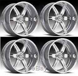 22 Pro Wheels Custom Forged Billet Rims Aluminum Alloy Foose Intro Racing Mags