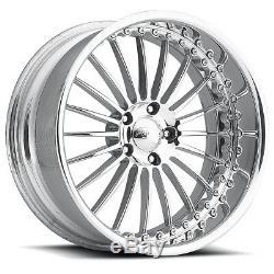 22 Pro Wheels P4 Custom Forged Billet Rims Intro Line Foose Raceline Staggered