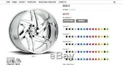 24 Pro Wheels Custom Forged Billet Rims Aluminum Alloy Foose Intro Racing Mags