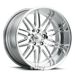 24 Pro Wheels Rims Bronze Black Formula Forged Billet Aluminum Custom Offset