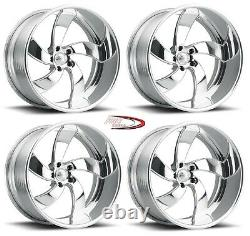 26 Pro Wheels Rims Sicario 5 Rose Gold Deep Lip Forged Billet Twisted