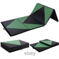 4'x8'x2 Gymnastics Gym Folding Exercise Aerobics Tumbling Play yoga Mat