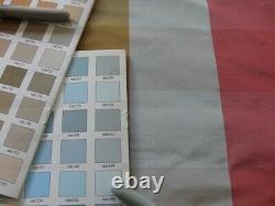4y Scalamandre 100% Silk Taffeta Check Apple Green Pink D13g
