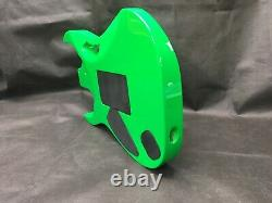 6 string guitar body, Jem style, HSH, OSNJ, Lochness green, pink claw RB061