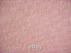 8-1/8y Kravet Smart 35518 Pink Green Southwest Outdoor Tweed Upholstery Fabric