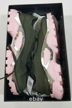 ADIDAS Raf Simons Green Pink Detroit Runner Sneakers Shoes GIFT