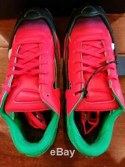Adidas RS Raf Simon's Replicant Ozweego Green Pink EE7932
