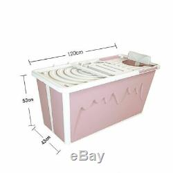 Adult Bathtub Portable Shower Seat Collapsible Household Large Folding Green Tub