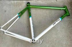 All-City Mr Pink Classic Frameset 700c, Steel, Green and White, 55cm