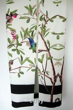 BNWOT Ted Baker Dress size TB 3 (UK 12) Evrely Pink Green Cream Lined
