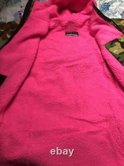 BNWT Green Pink Camo DRYROBE Advance Long Sleeve, Size Small SUP Surf Swim