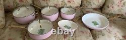 BRAND NEW Green Pan (PINK KitchenAid/Cuisinart)10-pc Cook Ware Pot Skillet Set
