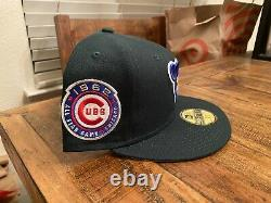 Chicago Cubs 1962 All Star Game Green Eggs and Ham New Era Fitted 7 3/4 Pink UV