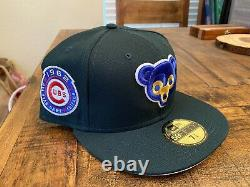 Chicago Cubs 1962 All Star Game Green Eggs and Ham pink UV New Era Fitted 7 3/4