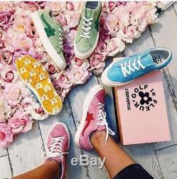 Converse Golf Le Fleur Tyler Creator One Star Pink Green Jade Blue Vanilla Solar