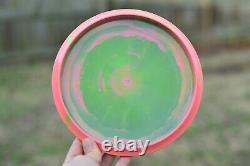 Discraft Paul McBeth 4x Buzzz Blood Splatter Sparkle Claw on Swirly Watermelon