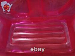 Double Person Inflatable Clear Sofa Lazy Green Bubble Air Chair Bed