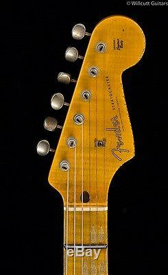 Fender Custom Shop 1957 Strat Heavy Relic Seafoam Green over Pink Paisley (982)
