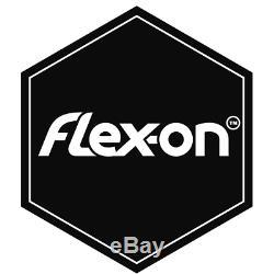 Flex-on Green Composite Stirrups w Inclined Ultra Grip Tread Grey/Pink/Grey