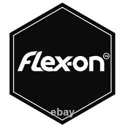 Flex-on Green Composite Stirrups w Inclined Ultra Grip Tread SILVER/PINK/GREY