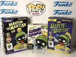 Funko Pop Marvin The Martian Green Orange Pink Duck Dodgers SDCC 2017 1000 Piece