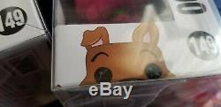 Funko Pop Pink, Green, Blue Scooby-Doo Flocked #149 2017 SDCC Exclusive LOT