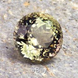 GREEN-PINK-GOLD OREGON SUNSTONE 4.54Ct FLAWLESS-AMAZING CLR-FOR JEWELRY-VIDEO