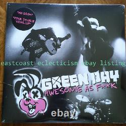 Green Day Awesome as FK Pink Vinyl 2x LP Set RARE NEW SEALED Fuck