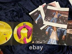 Harry styles pink translucent anniversary vinyl & mint green limited vinyl SET