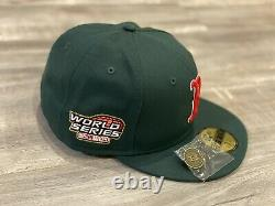 Hat Club Exclusive Boston Red Sox World Series Green Eggs And Ham Pink UV 7 1/2