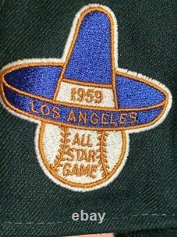 Hat Club Exclusive Dodgers Green Eggs & Ham Pink Bottom New Era 59Fifty 7 3/8