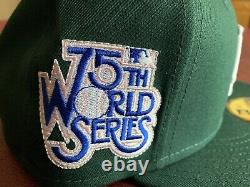 Hat Club Exclusive LA Dodgers World Series Green and Pink