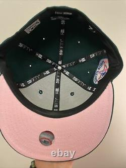 Hat Club Exclusive Montreal Expos Green Eggs And Ham 7 1/4 Patch Pink UV MLB Cap
