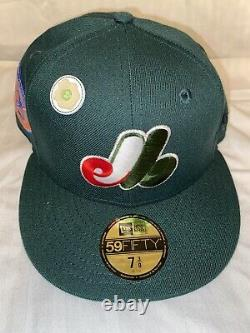 Hat Club Green Eggs And Ham Montreal Expos Pink Bottom/UV Fitted Hat Size 7 1/2