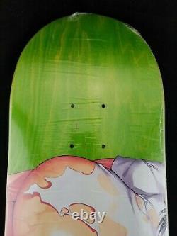 Hook-Ups Torn Skateboard Deck 8.475 Jeremy Klein Sold Out Rare New Green/Pink