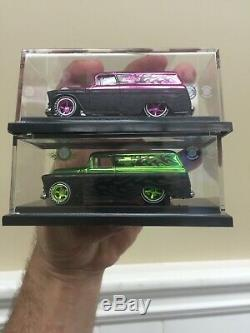 Hot Wheels Japan 55 Chevy Panel 2008 Convention Pink And Green