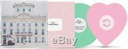 K-12 Exclusive Melanie Martinez Mint Green And Pink Heart Shaped 2x LP Vinyl