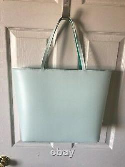 Kate Spade Handbag New Horizons Little Len Cactus Tote Green Aqua pink Black New