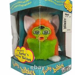 Lot of 3 Brand New Sealed Furby Babies 70-940 Vintage Green Orange Pink Blue