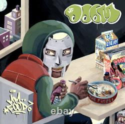 MF Doom MM. FOOD +MP3s LIMITED EDITION New Sealed Green/Pink Colored Vinyl 2 LP