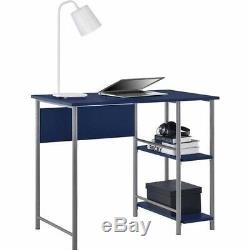 Mainstay Office Desk and Chair Combo Blue, Teal, White, Pink and Green