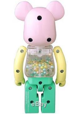 Medicom My First Baby Alloyed 200% Chogokin Pink & Green Bearbrick Be@rbrick 1pc