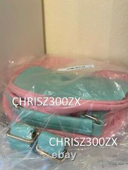 Melanie Martinez K-12 Vinyl Backpack Bag Cry Baby Mint Green Pink Faux Fur K12