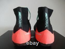 Mens Nike Mercurial Superfly Fg ID Black-pink-green Sz 6.5 651789-995