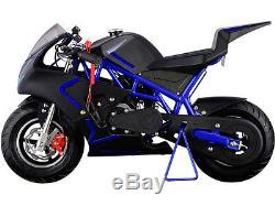 MotoTec Cali 40cc Gas Pocket Bike Ride on Motorcycle Age12+ Mini MAKE OFFER
