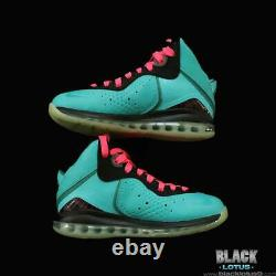 NEW RARE Nike Lebron 8 South Beach Pink Flash Filament Green size 8 Easter