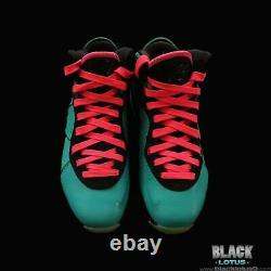 NEW RARE Nike Lebron 8 South Beach Pink Flash Filament Green size 8 Valentines